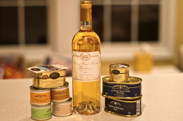 Du bon foie gras et du sauternes